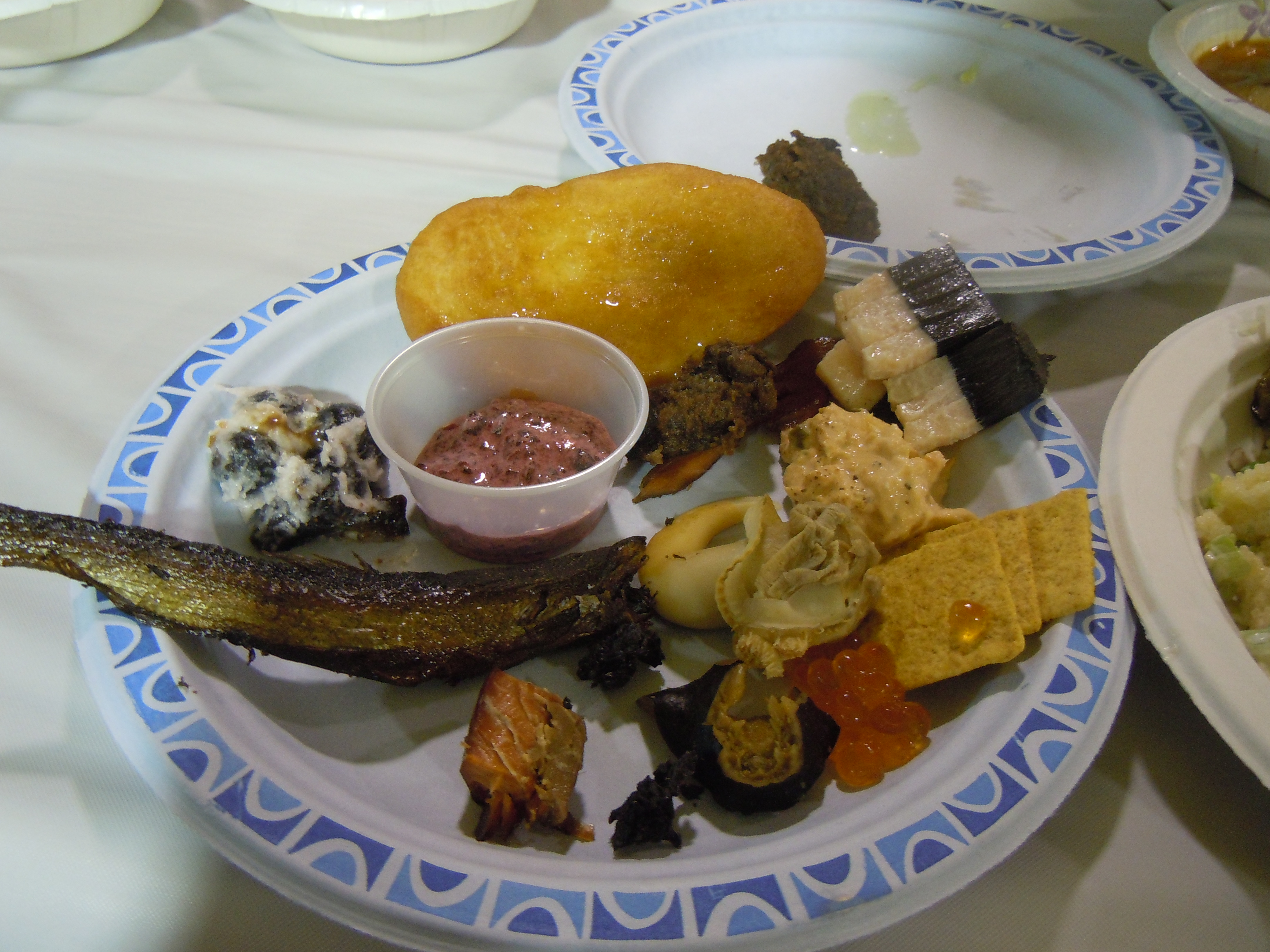 Tlingit culture hooked for Alaskan cuisine traditional
